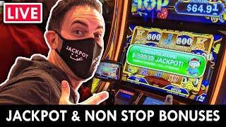 ⋆ Slots ⋆ LIVE JACKPOT - Nonstop BONUS NIGHT at the Casino ⋆ Slots ⋆ Agua Caliente