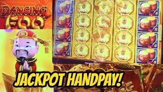 JACKPOT HANDPAY-DANCING FOO-ROBERT WINS AGAIN