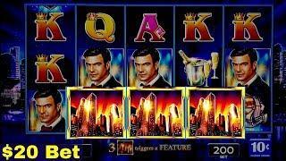 High Limit Lock It Link NIGHT LIFE Slot $20 Bet Bonuses | BLACK DIAMOND Slot $27 Max Bet Live Play