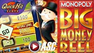 MONOPOLY BIG MONEY REEL | •️ QUICK HIT SLOTS GAME APP REVIEW!