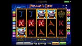 Pharaohs Tomb Slot Big Win - Novomatic