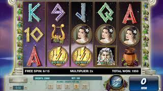 Thundering Zeus slots - 2,100 win!