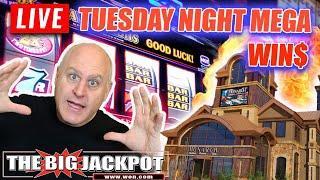 • LIVE MEGA WIN$ •️ Tuesday Night Jackpots from Monarch Casino • | The Big Jackpot
