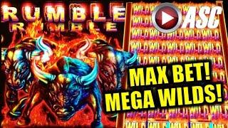 *BIG WIN!* RUMBLE RUMBLE (SWEET ZONE) | MAX BET! Slot Machine Bonus (Ainsworth)