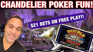 ⋆ Slots ⋆️ $1000 Free Play on High Limit Double Super Times Pay Poker at Cosmopolitan of Las Vegas!!