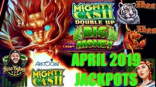•️ONLY THE JACKPOTS•️ OVER $14,000 in APRIL MIGHTY CASH HIGH LIMIT SLOTS