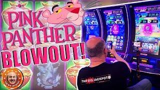 •TRIPLE JACKPOTS! •High Limit Pink Panther Mega Mariachi & Mystical Fortune WIN$!