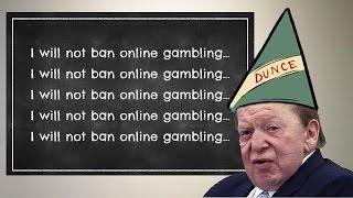 Sheldon Adelson's Failing Grade for his Online Gambling Ban