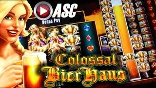 *NEW* COLOSSAL REELS BIER HAUS | WMS - W. LIFE OF LUXURY Slot Machine Bonus