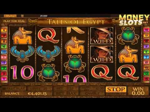 Tales of Egypt Video Slots Review  |  MoneySlots.net