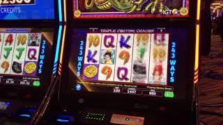 Triple Fortune Dragon Slot Machine Free Spin Bonus #3 Ilani Casino