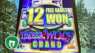 Timber Wolf Grand slot machine, bonus retrigger