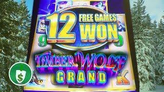 Timber Wolf Grand slot machine, bonus retrigger
