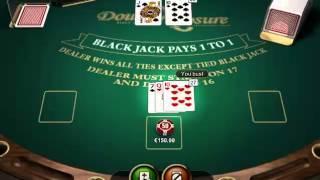 Big Win Double Exposure Blackjack At Redbet Casino