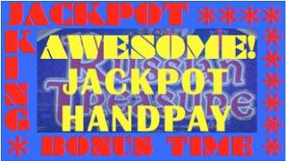 Russian Treasure *JACKPOT HANDPAY*  BONUS Triggered!!!