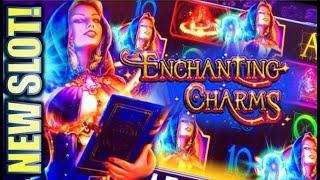 •NEW SLOTS AND A 2ND CHANCE SPIN!?• ENCHANTING CHARMS & ELEMENTAL BEAUTY Slot Machine Bonus (SG)