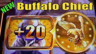 ⋆ Slots ⋆NEW BUFFALO !! BIG POTENTIAL !⋆ Slots ⋆BUFFALO CHIEF Slot⋆ Slots ⋆$150 Slot Free Play / $3.