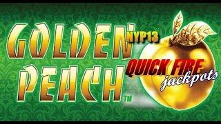 Aristocrat: Quick Fire - Golden Peach Slot Bonus WIN