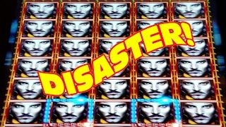 A MAX BET DISASTER  •  DOUBLE FULL SCREEN OF WILDS
