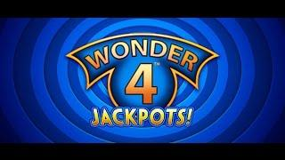 ***** 1ST LOOK  Aristocrat Wonder 4 JACKPOTS Wicked Winnings II JACKPOT!