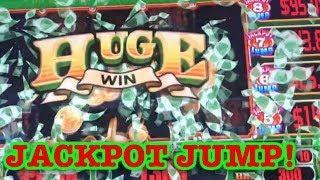 • JACKPOT JUMP OR JACKPOT INFERNO? •  HUGE WIN • LIVE PLAY • BONUS • JACKPOT JUMP FEATURE •
