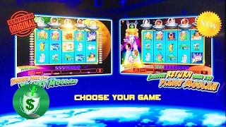 Invaders AND Invaders Return from the Planet Moolah slot machine