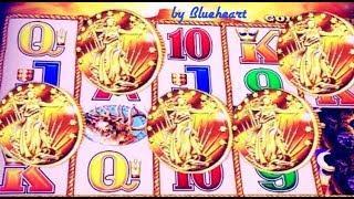 •CURSE OR MAGIC?• BUFFALO GOLD 5 COIN BONUS!  Wonder 4 Buffalo WINS and MORE!