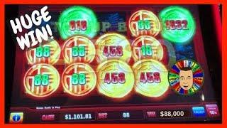 •Huge Win! High Limit Rising Fortunes & Anchorman Slots•