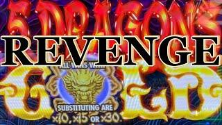 ⋆ Slots ⋆TIME TO REVENGE !!⋆ Slots ⋆5 DRAGONS GOLD Slot (Aristocrat) $5.00 Bet Slot Play⋆ Slots ⋆$160 Slot Free Play ⋆ Slots ⋆栗スロ