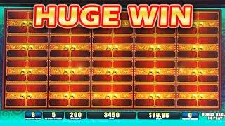 HUGE FULL SCREEN WIN!!! ~ Dragons Legend Slot Machine Bonus Winning Fortune Progressives