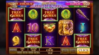 Age of the Gods: Prince of Olympus Online Slot from Playtech - Hydra Bonus & Free Games