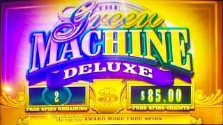 ++NEW The Green Machine Deluxe slot machine, #G2E2015, SG