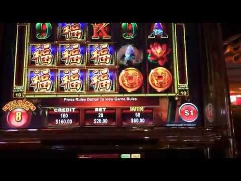 Panda King high limit slots bonus win
