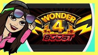 BOOST ME!  Wonder 4 Boost Slot Machine * Winning on Wonder 4 Slots! | Casino Countess