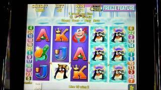 Deep Freeze Slot Machine Bonus Win (queenslots)