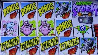 ⋆ Slots ⋆BIG WIN ! THE BEST BONUS ON THIS GAME EVER !⋆ Slots ⋆MONEY STORM DELUXE Slot (IGT) $3.00 Bet⋆ Slots ⋆Slot Play⋆ Slots ⋆栗スロ