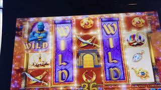 SMARTER GAMBLER EP. 1 - Aladdin's Fortune 3D Slot Machine Bonus