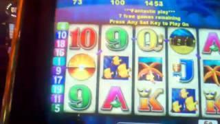 Dancing Dolphins nickel video slot machine bonus ~ Aristocrat