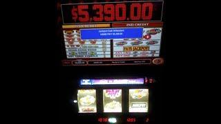 Quick Hits Jackpot $5,390.00 @Bellagio, Las Vegas