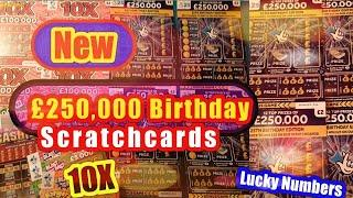 •NEW•£250,000 Birthday•Scratchcards•10X Cash•CASH VAULT•Lucky Numbers•Bangers & Cash•