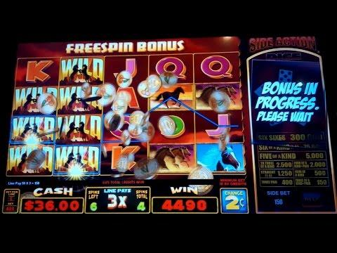 Stallion Spirit Slot Machine $8 Max Bet *LIVE PLAY* Bonus!