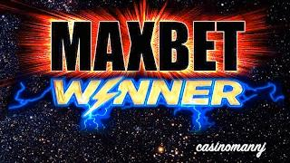 MAX BET WINNER - BIG WIN!!! - SLOT MAX BET FEATURES - Slot Machine Bonus