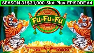 FU-FU-FU Slot Machine Live Play & BIG WIN Line Hit-GREAT SESSION   Season 3   EPISODE #4