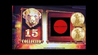 WONDER 4 ~ BUFFALO GOLD ~ 15 Gold Buffalo Heads ~ 175x Big Bonus Win ~ Live Slot Play @ San Manuel