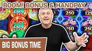 ⋆ Slots ⋆ BOOM! Bonus & Handpay ⋆ Slots ⋆ Rising Fortunes + Mighty Cash = HUGE CASINO FUN