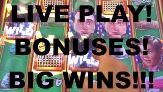 LIVE PLAY and Bonuses on A Christmas Story Slot Machine