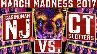 MARCH MADNESS 2017 - BUFFALO GRAND Slot Machine (EAST Coast Round #1) Slot Machine Tournament