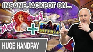 ⋆ Slots ⋆ Absolutely INSANE Jackpot on Magic Pearl Slots! ⋆ Slots ⋆ Plus BUFFALO DELUXE in VEGAS