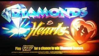 Aristocrat Technologies - Diamonds&Hearts Slot Respin Bonus WIN