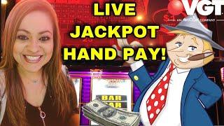 VGT SUNDAY FUN'DAY WITH A LIVE JACKPOT HAND PAY ON •••️•MR. MONEY BAGS! •••️